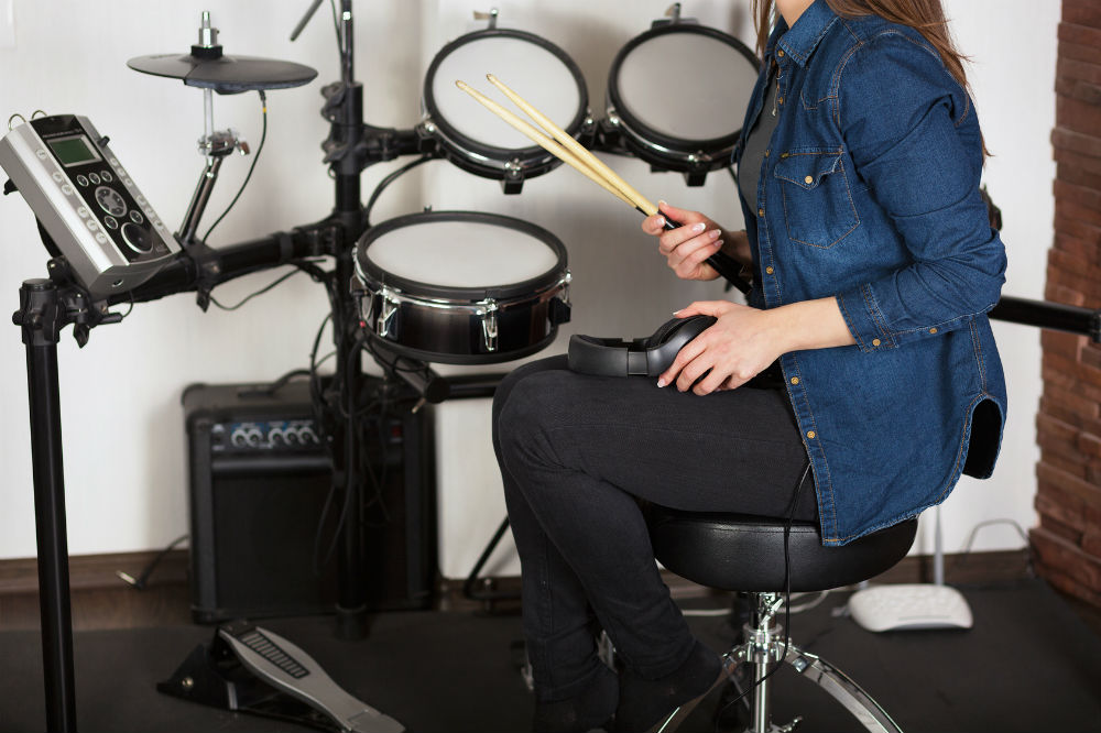 Top Brands Electronic Drum set for Beginners